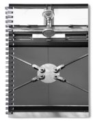Ironworks In Black And White Spiral Notebook