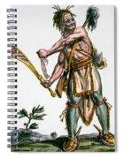 Iroquois Warrior Spiral Notebook