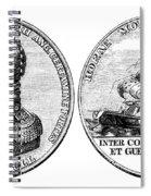 Isaac Hull: Medal Spiral Notebook