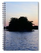 Island Evening Spiral Notebook