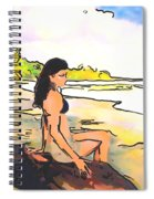 Island Girl Spiral Notebook