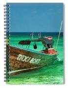 Island Taxi  Spiral Notebook
