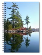 Isle - Natural Reflection Spiral Notebook