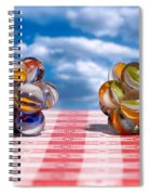 Isometric And Icosahedral Symmetry Spiral Notebook