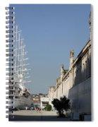 Istanbul Cruise Ship Terminal Spiral Notebook
