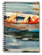 Istrian Fishing Boat Spiral Notebook