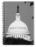 It Really Is Black And White Spiral Notebook