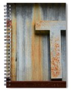 It Rusty Sign Spiral Notebook