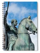 Italian Bronze Spiral Notebook