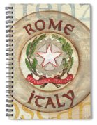 Italian Coat Of Arms Spiral Notebook