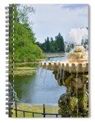 Italian Fountain London Spiral Notebook