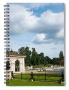 Italian Gardens London Spiral Notebook