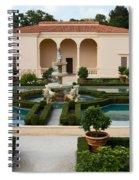 Italian Renaissance Garden Spiral Notebook