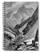 Italy: Carrara Mountains Spiral Notebook