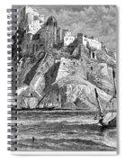 Italy: Castle Of Ischia Spiral Notebook