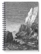 Italy: Earthquake, 1856 Spiral Notebook