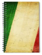 Italy Flag Spiral Notebook