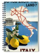 Italy Spiral Notebook