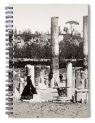 Italy: Pozzuoli, C1890 Spiral Notebook