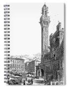 Italy: Siena, 19th Century Spiral Notebook