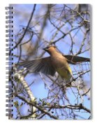 It's Flying Time Again Spiral Notebook