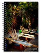 Its Margarita Time In Paradise Spiral Notebook