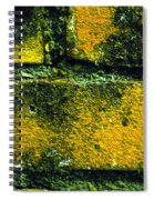 Ivy And Old Wall Spiral Notebook