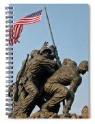 Iwo Jima Memoria 2 Spiral Notebook