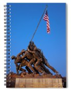 Iwo Jima Memorial Spiral Notebook