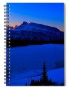 Jack Frost Blues Spiral Notebook