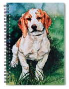 Jack Russell Woogle Spiral Notebook