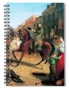 Jackson In Winchester, 1862 Spiral Notebook