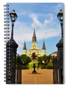 Jackson Square In New Orleans Spiral Notebook
