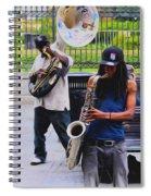 Jackson Square Jazz Spiral Notebook
