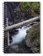 Jackstraws Over White Water  Spiral Notebook