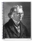 Jacob Grimm (1785-1863) Spiral Notebook