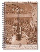 Jacobin Club Meeting Spiral Notebook