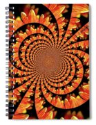 Jagged Petals Spiral Notebook