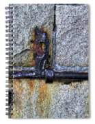 Jail Bolt Spiral Notebook