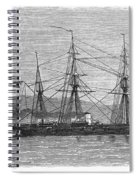 Jamaica: Css Alabama, 1863 Spiral Notebook