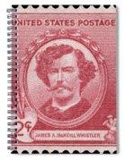 James A. Mcneill Whistler Spiral Notebook