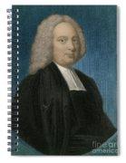 James Bradley, English Astronomer Spiral Notebook