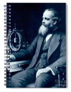 James Clerk Maxwell, Scottish Physicist Spiral Notebook