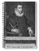 James Crichton (1560-1582) Spiral Notebook
