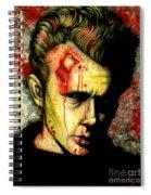 James Dean Zombie Spiral Notebook