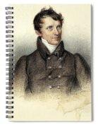 James Fenimore Cooper Spiral Notebook