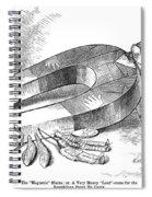 James G. Blaine Cartoon Spiral Notebook