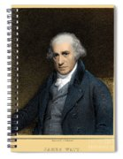 James Watt, Scottish Inventor Spiral Notebook