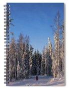 January Nr 3 Spiral Notebook
