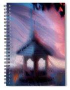 January's Window... Spiral Notebook